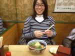 Yumiko loves Japan soba noodles!